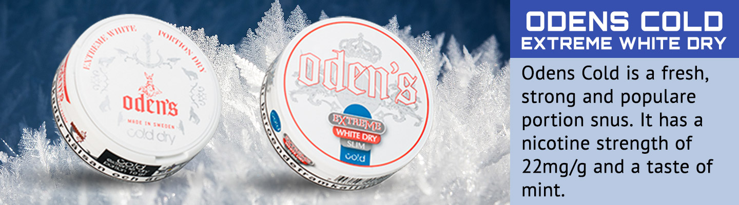 Buy Odens Cold Extreme WD snus