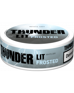 Thunder Frosted Lit White Dry