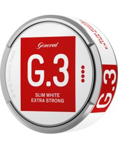 General G.3 Extra Strong White Slim