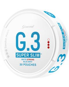 General G.3 Mint Strong White Super Slim