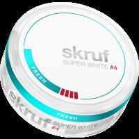 Skruf Super White Slim Fresh Extra Strong