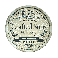 Crafted Snus Whisky White