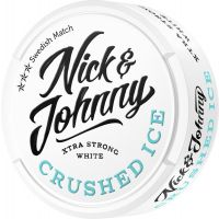 Nick and Johnny Crushed Ice Xtra Strong White